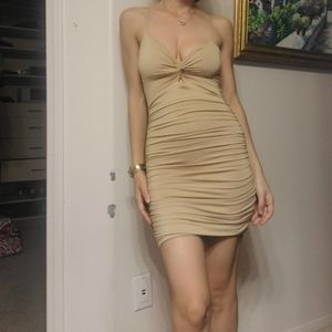 Oh polly ruched dress